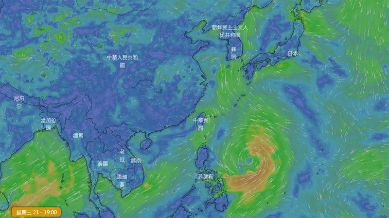 白鹿續增強「侵台機率大幅提高」 吳德榮:海陸警跑不掉