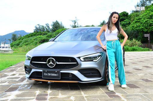 ▲Mercedes-Benz CLA250 Edition 1。(圖/鍾釗榛攝影)