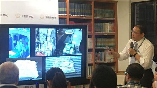高檢署公布資料,顯示近年毒品侵台共有「三路」,皆來自東南亞。(圖/記者楊佩琪攝)