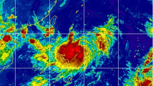 白鹿侵台/暴風圈侵襲機率曝光 賈新興:路線從台灣頭到尾 圖翻攝自台灣颱風資訊中心