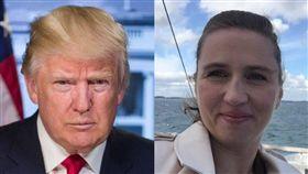 丹麥總理,,格陵蘭,嘲笑,川普,取消訪問