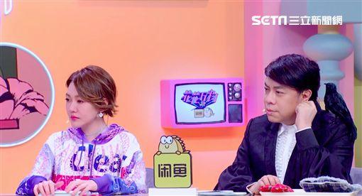 0822 喬欣(左)上蔡康永(右)與小S主持的《花花萬物2》(圖:friDay影音提供)