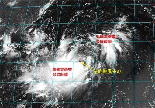 白鹿颱風,氣象專家,吳聖宇,白鹿,登陸