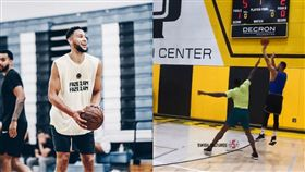 NBA/超進化?西蒙斯後撤步噴三分 NBA,費城七六人,Ben Simmons,跳投 翻攝自推特