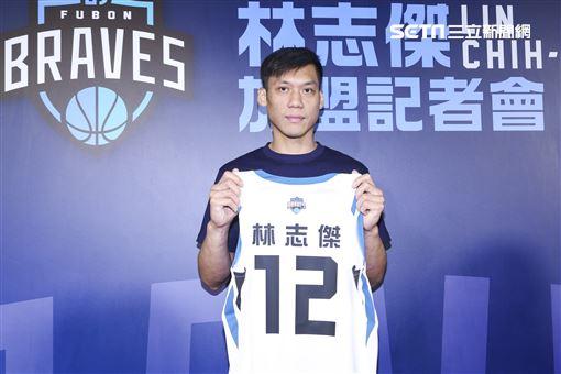 「野獸」林志傑重磅回歸台灣籃壇並加盟富邦勇士隊。(圖/記者林士傑攝影)