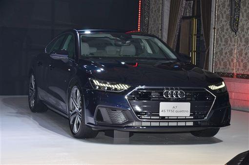 ▲The new Audi A7 Sportback。(圖/鍾釗榛攝影)