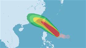 颱風,白鹿,中央氣象局,海警(中央氣象局)
