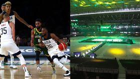 籃球/萬元買票看美國隊…慘坐塑膠椅 FIBA世界盃,美國男籃,夢幻隊,Gregg Popovich,澳洲 翻攝自推特