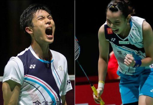 ▲台灣兩位世界排名第2的周天成與戴資穎,今晚都要出賽。(圖/取自BWF官網)