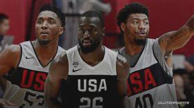 籃球/美國隊長出爐!塞隊爽包辦2人 籃球,FIBA世界盃,美國男籃,夢幻隊,美國隊長,Kemba Walker,Marcus Smart,Donovan Mitchell 翻攝自推特ClutchPoints