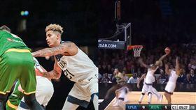 籃球/內奸是你?庫茲馬竟幫澳洲得分 籃球,FIBA世界盃,Kyle Kuzma,Ben Simmons,亞馬遜雨林 翻攝自推特
