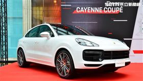 ▲The new Cayenne Coupé。(圖/鍾釗榛攝影)