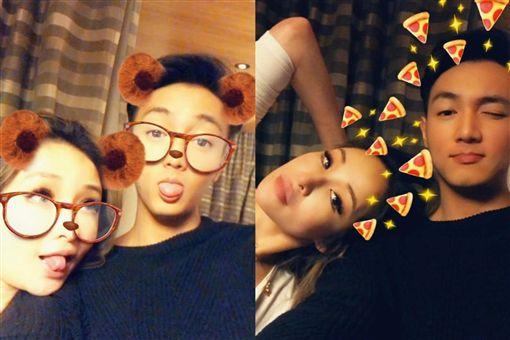 蕭亞軒認愛小16歲黃皓 40歲生日喊:愛需要我們在一起圖翻攝自蕭亞軒臉書