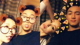 蕭亞軒認愛小16歲黃皓 40歲生日喊:愛需要我們在一起 圖翻攝自蕭亞軒臉書
