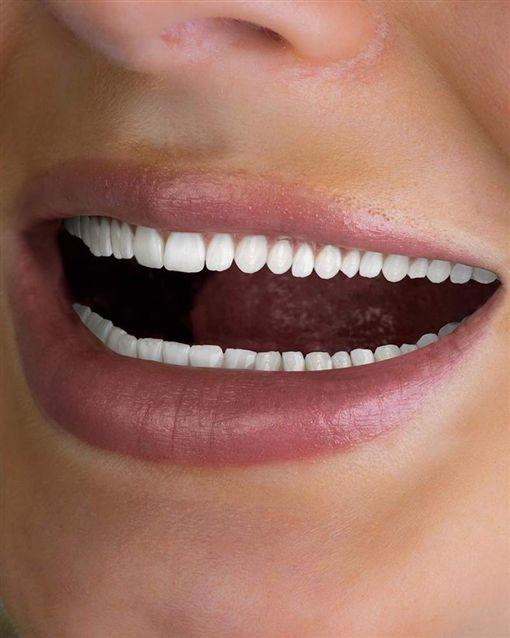 澳洲,美白,牙齒,廣告,密集恐懼