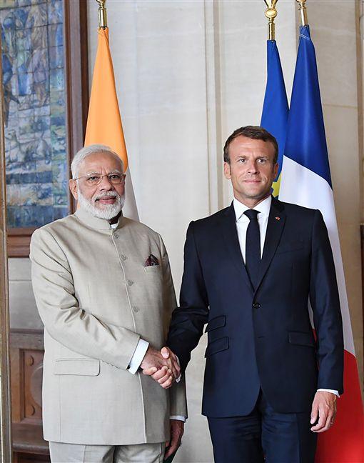莫迪,印度,馬克,法國,會談