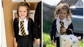 怎麼了!乖女兒第一天上學回家變太妹 爸媽舉手瘋喊加1(圖/翻攝自Barrhead News)