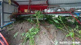 颱風白鹿暴風圈已進入台灣東部,池上一處倉庫傳出沖進土石。(圖/資料照)