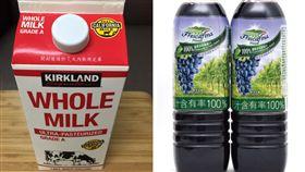 好市多特調紫色飲品 網提醒食安 正妹媽:我食品營養系(圖/翻攝自臉書Costco好市多 商品經驗老實說)
