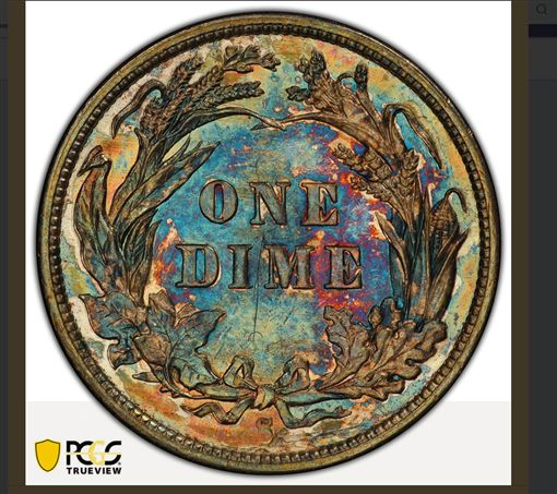 美國,硬幣,巴伯,1894-S Barber dime,Stack's Bowers Galleries,Jerry Buss,PCGS