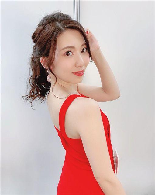 AV女優山岸逢花現身「TRE台北國際成人展」/IG