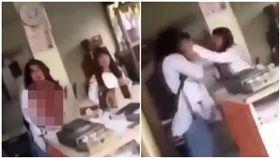 她遭前夫刺殺!滿身血哭求「我不想死」 十歲女兒含淚護母(圖/翻攝自YouTube)