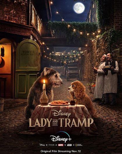 真狗版《小姐與流氓》(Lady and the Tramp)圖/IG
