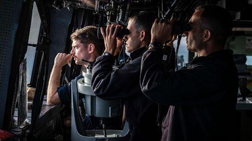 綠灣號,美國海軍,中國,台灣海峽,(圖/翻攝自第七艦隊臉書)