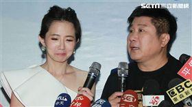 謝忻重拾主持棒(圖/記者邱榮吉攝)