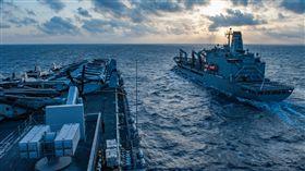 綠灣號,美國海軍,中國,台灣海峽,(圖/翻攝自推特)