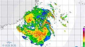 白鹿颱風20:30路徑(圖/氣象局)