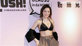 美胸女神熊熊(卓毓彤)創辦比基尼品牌今舉辦記者見面會。