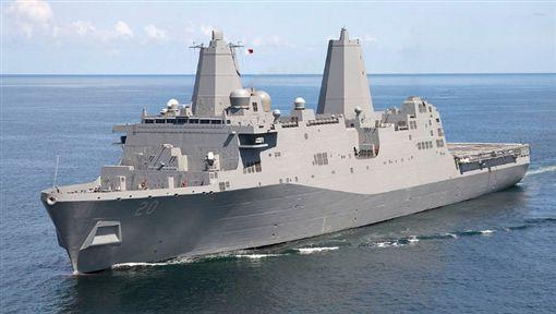 綠國,台灣海峽,灣號,美國海軍,中國,第七艦隊(圖/翻攝自推特)