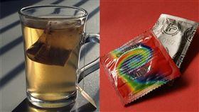 開會,泡茶,人蔘,保險套(圖/取自PIXABAY)