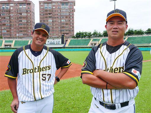 中信兄弟二軍也穿上阪神主題球衣。(圖/中信兄弟提供)
