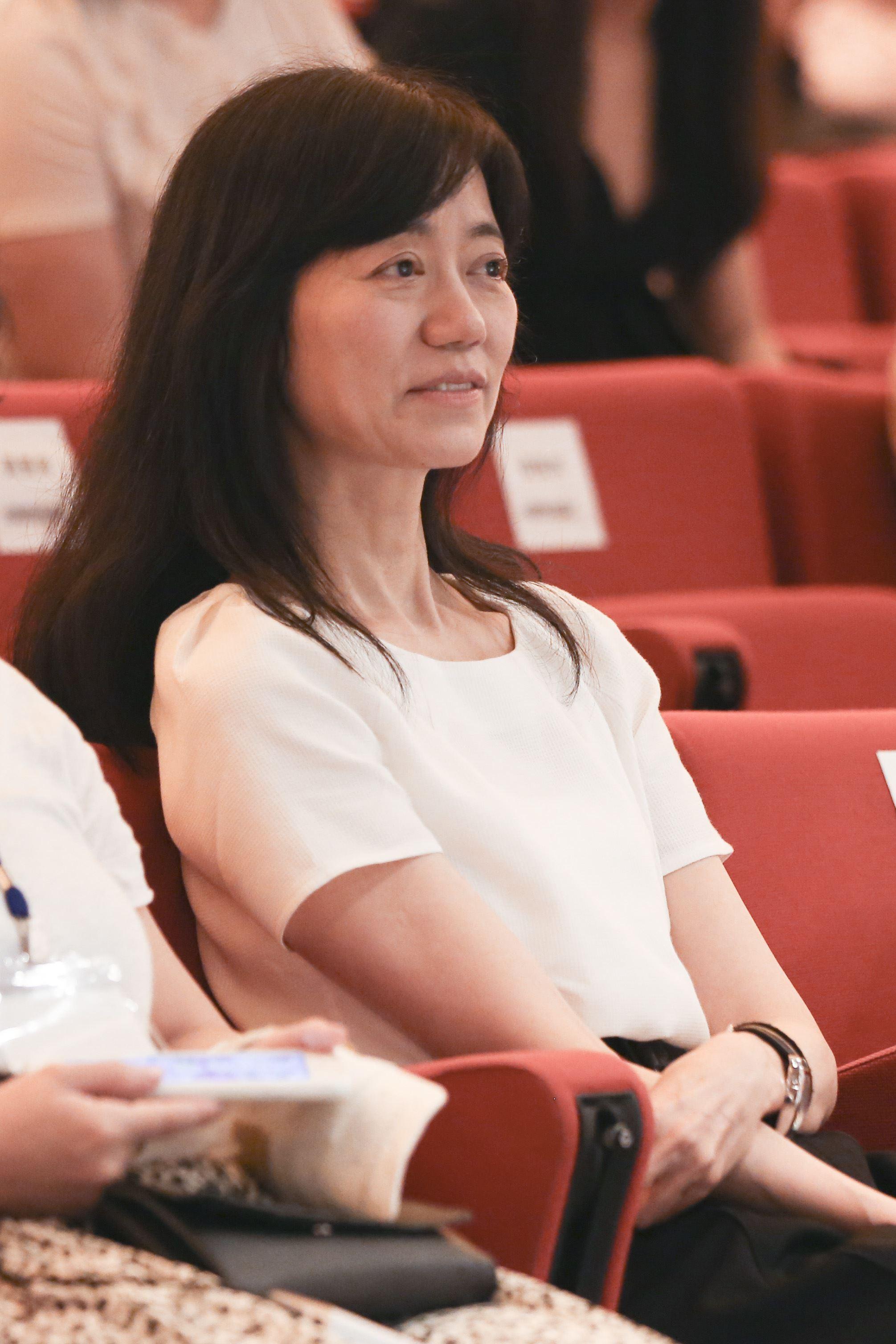 《致親愛的孤獨者》電影特映會,夢田文化執行長蘇麗媚。(圖/記者林士傑攝影)
