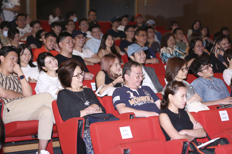 《致親愛的孤獨者》電影特映會,現場觀眾眾多。(圖/記者林士傑攝影)