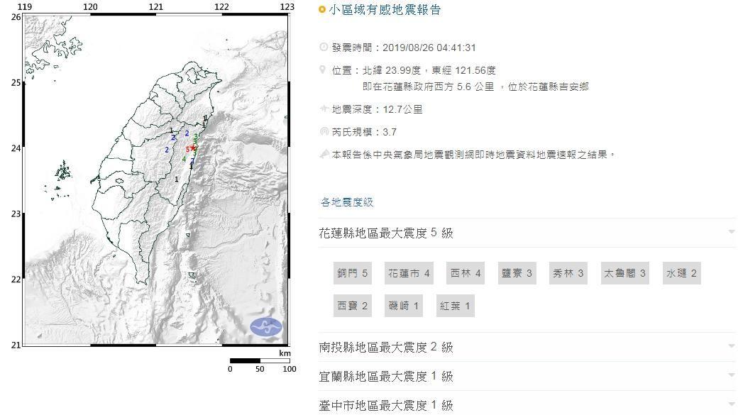 0826地震_氣象局