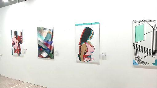 螢光線條+燈光!「膠帶展」打造迷幻、時尚感
