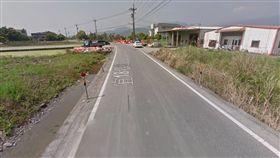 宜蘭,自摔,斷肢,車禍,超車(圖/翻攝自Googlemap)
