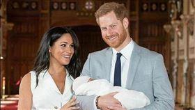 英國王室,引人注目,哈利王子,梅根,度假(圖/翻攝自每日郵報)
