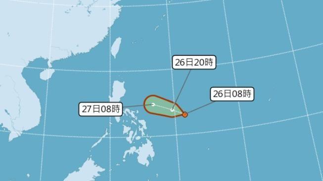 0826熱帶低壓_氣象局