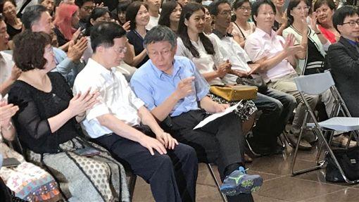 柯文哲 記者李依璇攝影