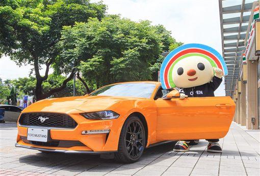 小七X福特推出預約賞車服務,成交可送三千禮券。