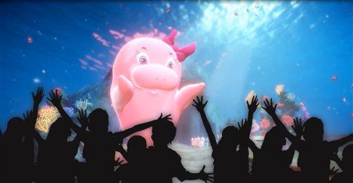 ▲美人魚動畫實境劇場(圖/遠雄海洋公園提供)