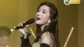 甄楚倩在80與90年代紅極一時。(圖/翻攝自YouTube)