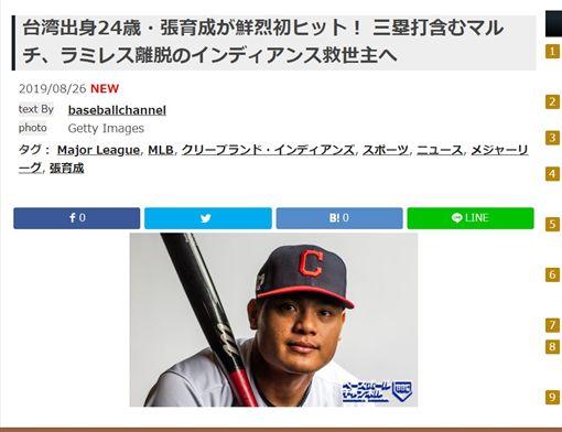 圖/翻攝自「Baseball Channel」