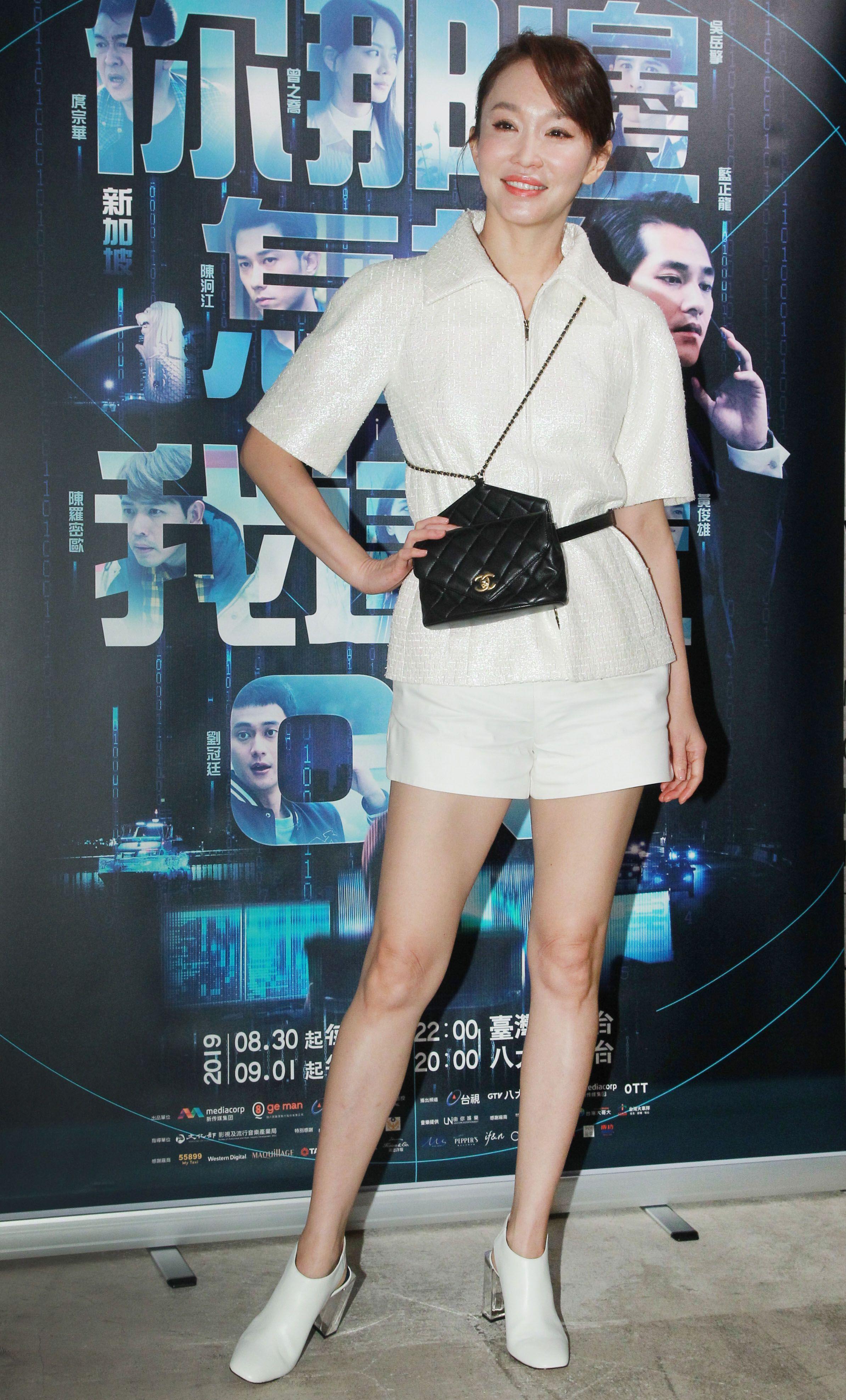 新加坡演員范文芳再次來台演戲。(記者邱榮吉/攝影)