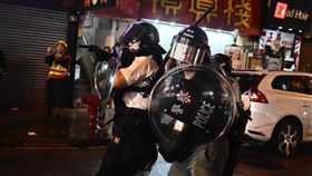 香港,反送中,汽油彈,水炮車,荃葵青(圖/立場新聞)
