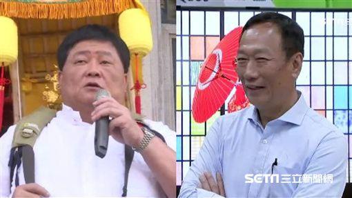 郭台銘、顏清標圖/資料照